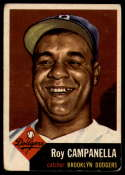 1953 Topps #27 Roy Campanella DP G/VG Good/Very Good
