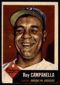 1953 Topps #27 Roy Campanella DP G Good