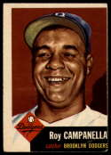 1953 Topps #27 Roy Campanella DP VG Very Good