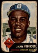 1953 Topps #1 Jackie Robinson DP P Poor