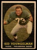 1958 Topps #24 Sid Youngelman UER VG/EX Very Good/Excellent