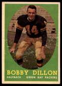 1958 Topps #32 Bobby Dillon EX/NM