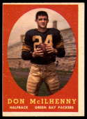 1958 Topps #71 Don McIlhenny VG/EX Very Good/Excellent RC Rookie