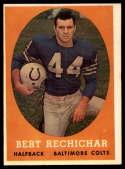 1958 Topps #74 Bert Rechichar EX++ Excellent++