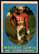 1958 Topps #82 Woodley Lewis UER EX/NM