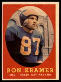 1958 Topps #58 Ron Kramer EX++ Excellent++ RC Rookie