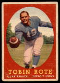 1958 Topps #94 Tobin Rote VG Very Good