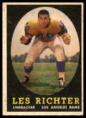 1958 Topps #105 Les Richter VG Very Good