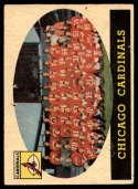 1958 Topps #69 Cardinals Team hole