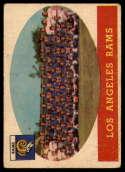 1958 Topps #85 Rams Team G/VG Good/Very Good