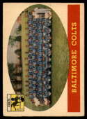 1958 Topps #110 Colts Team VG/EX Very Good/Excellent