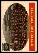 1958 Topps #116 Steelers Team EX Excellent