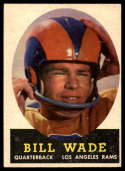 1958 Topps #38 Bill Wade EX Excellent