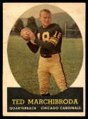 1958 Topps #44 Ted Marchibroda VG/EX Very Good/Excellent