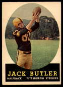1958 Topps #76 Jack Butler EX Excellent