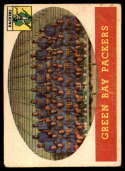 1958 Topps #96 Packers Team VG Very Good