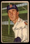 1952 Bowman #117 Bill Wight G/VG Good/Very Good