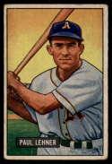 1951 Bowman #8 Paul Lehner VG Very Good