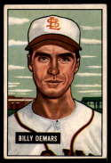 1951 Bowman #43 Billy DeMars EX Excellent