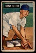 1951 Bowman #47 Grady Hatton G/VG Good/Very Good