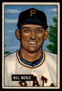1951 Bowman #64 Bill Werle VG Very Good