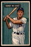 1951 Bowman #84 Barney McCosky G Good