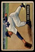 1951 Bowman #88 Eddie Robinson VG Very Good