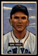 1951 Bowman #90 Dave Koslo EX Excellent
