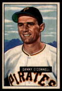 1951 Bowman #93 Danny O'Connell VG Very Good RC Rookie