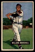1951 Bowman #98 Willard Marshall VG/EX Very Good/Excellent