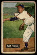1951 Bowman #114 Sam Zoldak G/VG Good/Very Good
