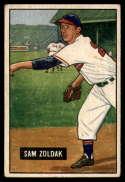 1951 Bowman #114 Sam Zoldak VG/EX Very Good/Excellent