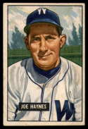 1951 Bowman #240 Joe Haynes VG/EX Very Good/Excellent