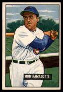 1951 Bowman #247 Bob Ramazzotti VG/EX Very Good/Excellent RC Rookie