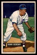 1951 Bowman #250 Hank Borowy EX Excellent