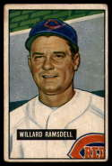 1951 Bowman #251 Willard Ramsdell VG Very Good RC Rookie