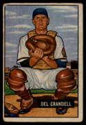 1951 Bowman #20 Del Crandall UER G/VG Good/Very Good