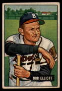 1951 Bowman #66 Bob Elliott VG Very Good