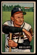 1951 Bowman #66 Bob Elliott VG/EX Very Good/Excellent