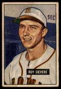 1951 Bowman #67 Roy Sievers G Good