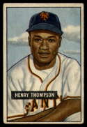 1951 Bowman #89 Hank Thompson G Good