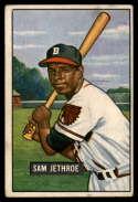 1951 Bowman #242 Sam Jethroe VG Very Good