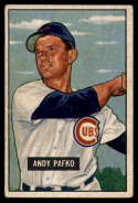1951 Bowman #103 Andy Pafko G Good