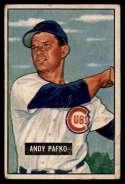 1951 Bowman #103 Andy Pafko G/VG Good/Very Good