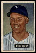 1951 Bowman #110 Bobby Brown EX Excellent