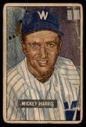 1951 Bowman #311 Mickey Harris G Good