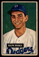 1951 Bowman #56 Ralph Branca VG Very Good