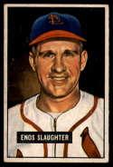 1951 Bowman #58 Enos Slaughter VG Very Good