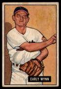 1951 Bowman #78 Early Wynn G Good
