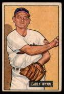 1951 Bowman #78 Early Wynn VG Very Good
